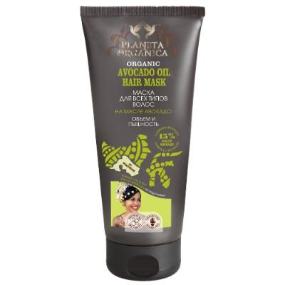 Маска на масле авокадо для всех типов волос