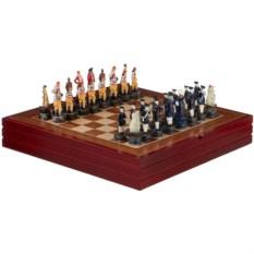 Шахматы для взрослых Корсары .размер 36 х 36 х 6 см.