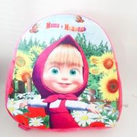"""Мягкий рюкзак с принтингом """"Маша и медведь"""", 30 см"""
