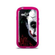 Силиконовый чехол для Samsung Galaxy S3 mini Джокер