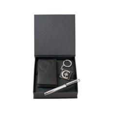 Набор Cerruti 1881: портмоне, ручка-роллер, брелок