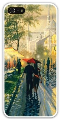 Чехол-накладка для iphone 5/5S, влюбленные