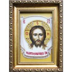Икона с кристаллами Swarovski Спас Нерукотворный
