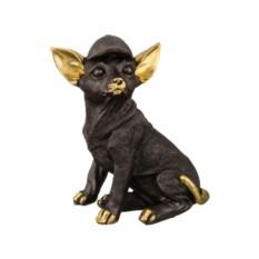 Фигурка Собака в кепке