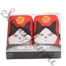 Маникюрный набор Cat Family Red