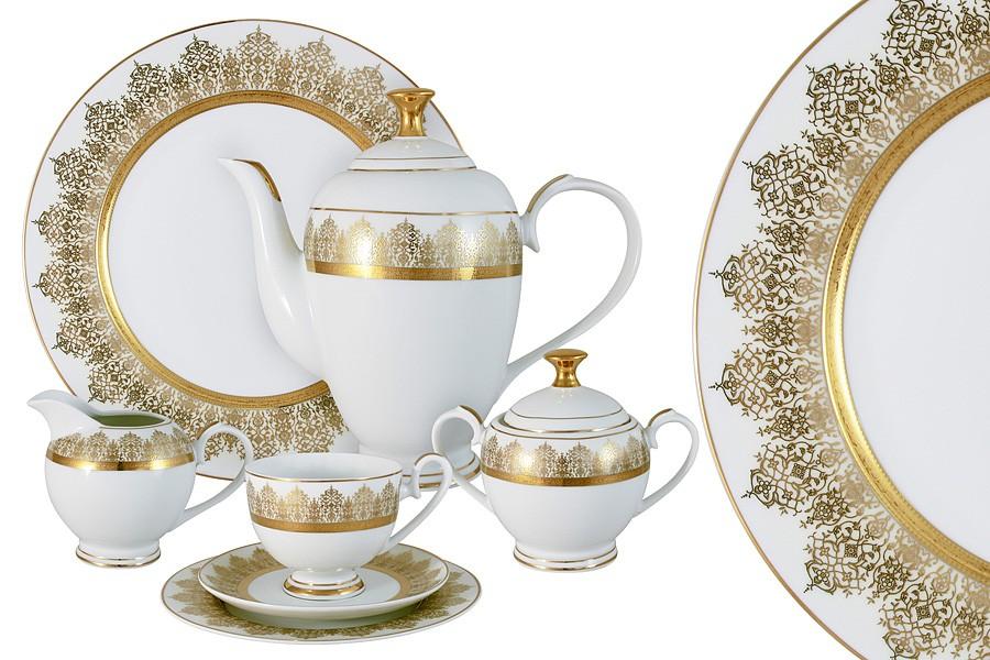Чайный сервиз Бруней из 42 предметов на 12 персон