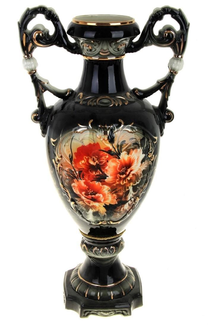 Напольная ваза Флорена, маки