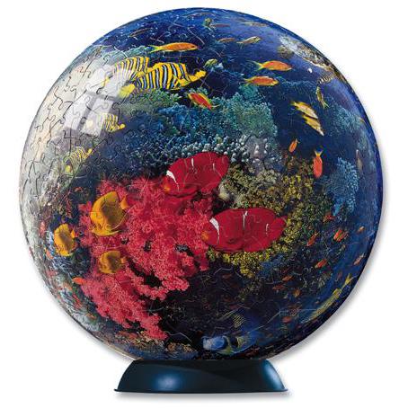 Шаровый пазл «Краски океана»