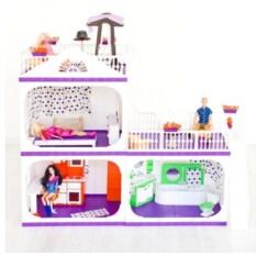Коттедж для кукол Конфетти (без мебели)