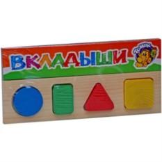 Деревянная игрушка-вкладыш Геометрия