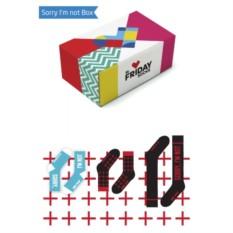 Дизайнерские носки Sorry I'm not Box