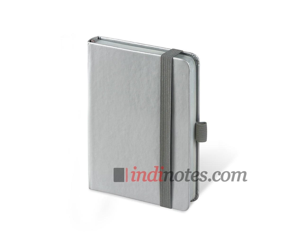 Записная книжка Brunnen Kompagnon Colour Code Silver A6