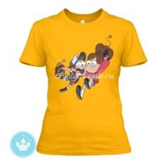 Женская футболка Диппер и Мейбл