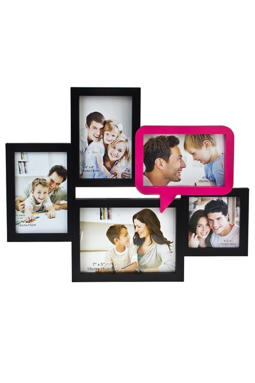 Рамка для 5-ти фото Любимая семья