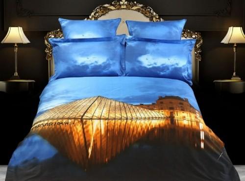 Комплект постельного белья Париж 3D (сатин)
