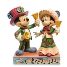 Фигурка Микки и Минни Маус с колокольчиками