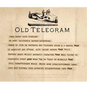 Вино Old Telegram Mourvedre. Bonny Doon Vineyard