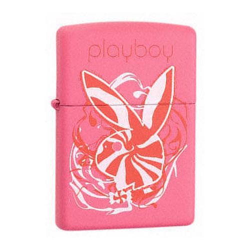 Зажигалка Zippo бензиновая Playboy Bunny Swirl