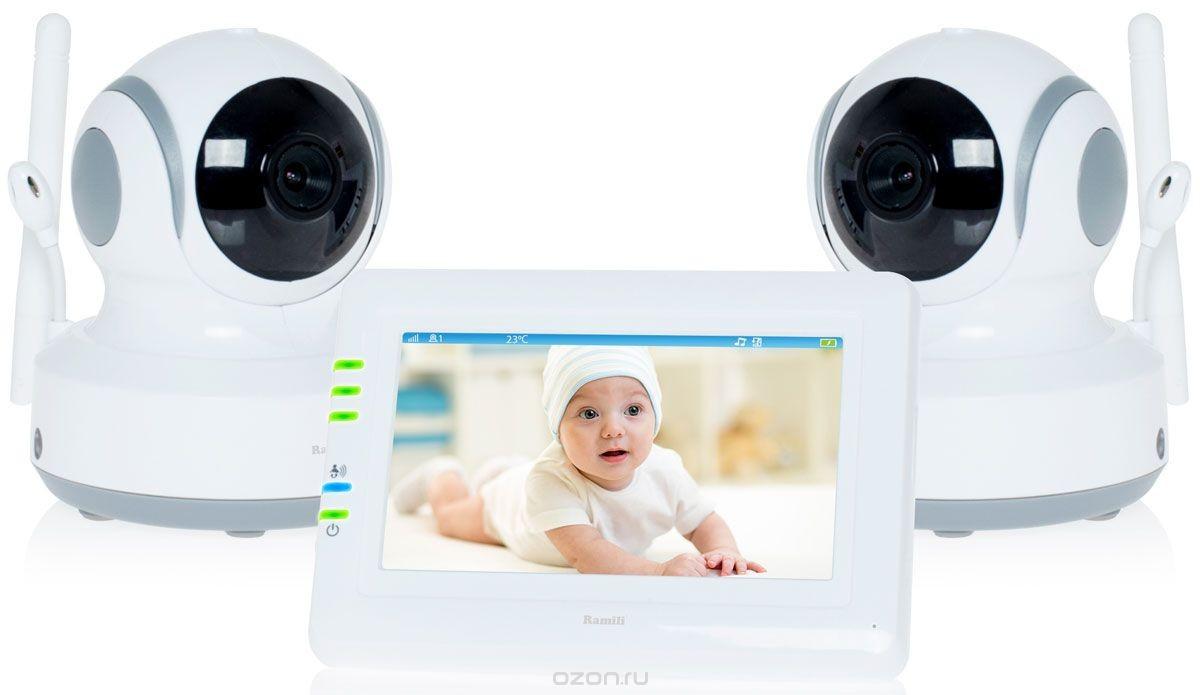 Видеоняня Ramili Baby RV900X2 White