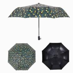 Черный зонт Лимонное настроение