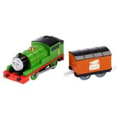 Машинка Mattel Thomas&Friends Паровозик Перси с вагоном