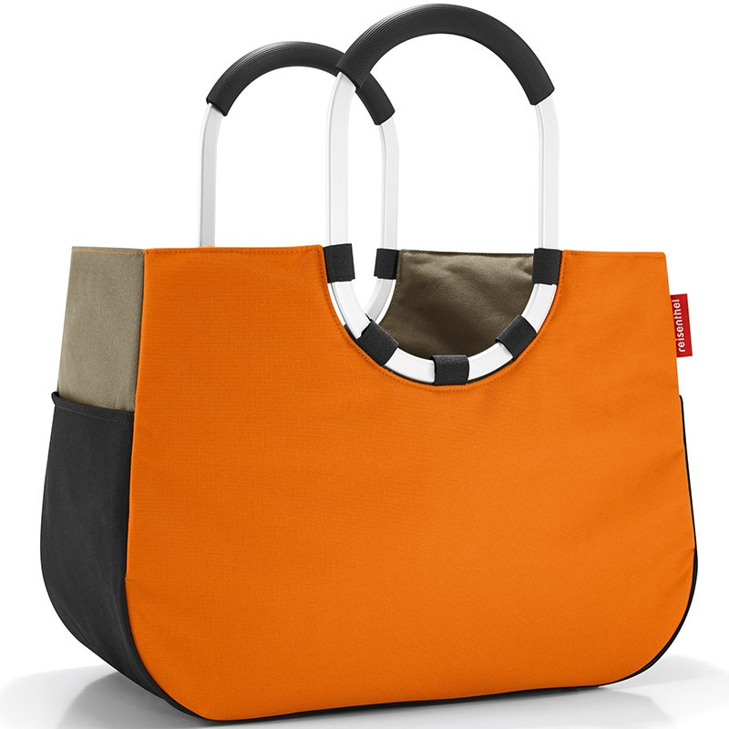 Сумка Loopshopper L patchwork pumpkin