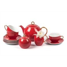 Чайный сервиз на 6 персон 15 предметов RAINBOW OR MONALISA