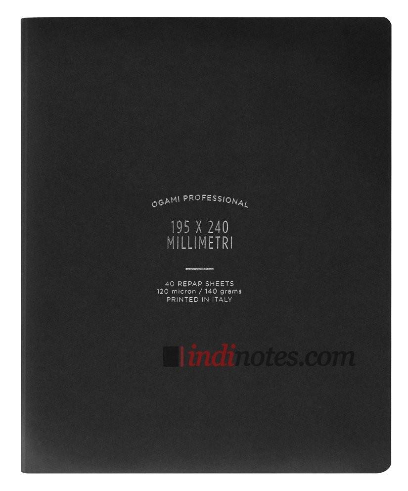 Записная книжка Ogami Professional Large Black Softcover