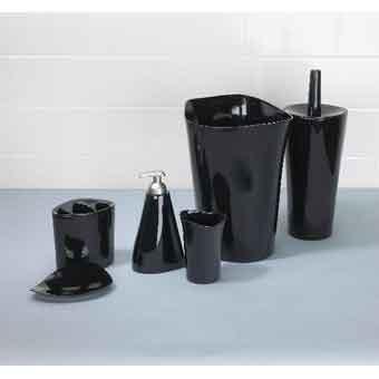 Набор для ванны Орвино черный