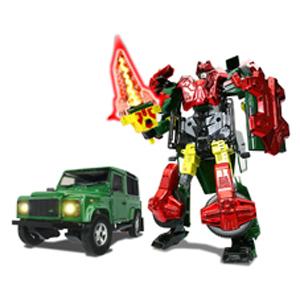 Робот-трансформер Land Rover Defender