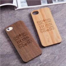 Деревянный чехол для iPhone «Прирождённый лидер»