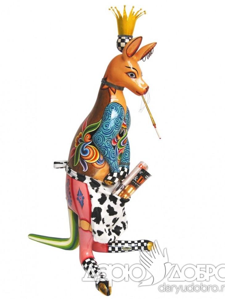 Скульптура Кенгуру Skippy от Thomas Hoffman