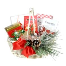 Подарочная корзина Новогоднее чаепитие