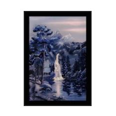 Картина Swarovsky «Водопад в ночи»