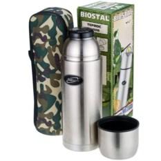 Термос с чехлом Biostal