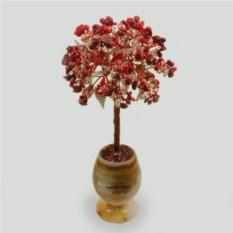 Дерево из коралла и горного хрусталя Родник любви