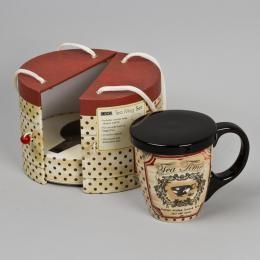 Чайный набор с ситечком «Ароматный чай»