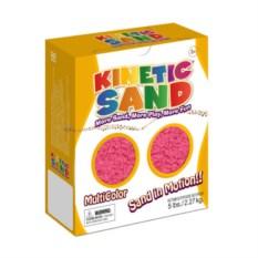 Розовый кинетический песок (2,27 кг)
