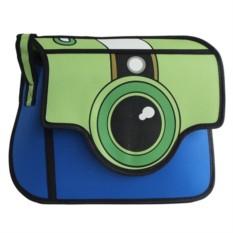Мультяшная сумка Фотоаппарат зеленый