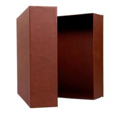 Подарочная упаковка коричневого цвета
