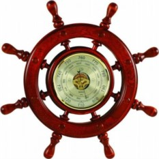 Барометр Штурвал, размер: 60x60x5 см