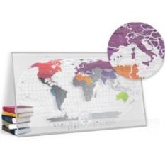Скретч-карта мира Air
