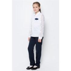 Блузка Nota Bene с кружевными рукавами