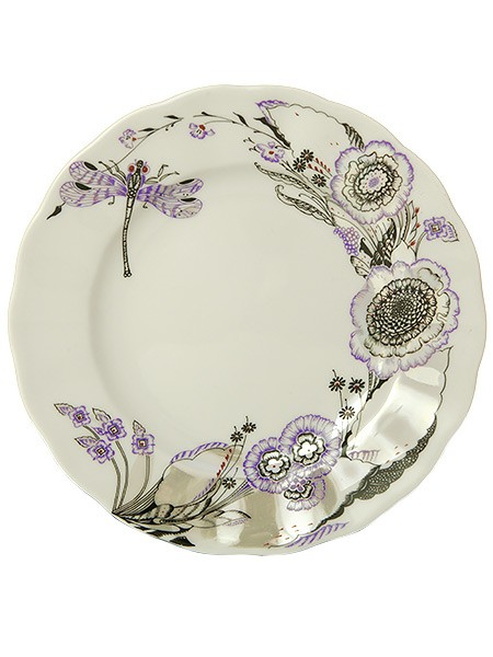 Закусочная тарелка Шепот стрекозы