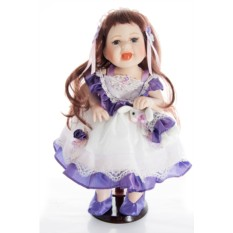 Коллекционная фарфоровая кукла Влада