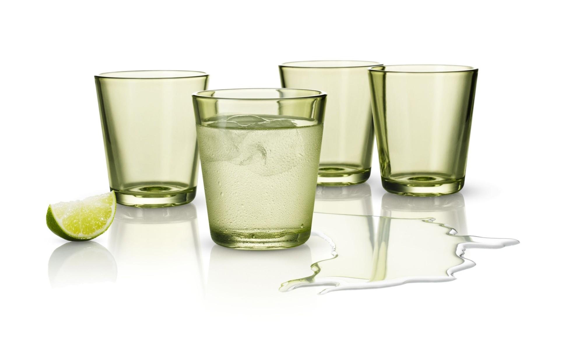Набор цветных стаканов Лайм