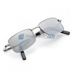 Солнцезащитные компактные очки с зеркальными стеклами