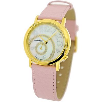 Женские наручные часы Romanson Leather