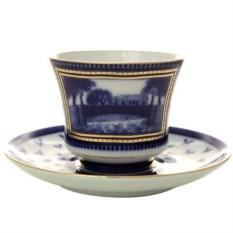 Чашка с блюдцем Первый садовый мост (фарфор)