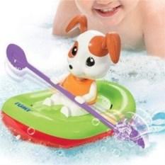 Игрушка для ванны Tomy Щенок на лодке